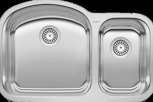 Blanco 401027 STELLAR U1-1/2 Undermount Double Kitchen Sink Stainless Montreal