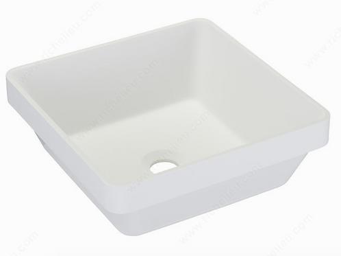 Riveo ALM07402 Topmount Bathroom Vessel Sink White $279.99 Lavabo Evier Blanc
