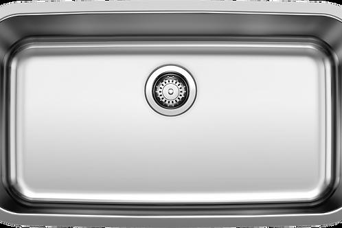 Blanco 401028 STELLAR Undermount Super Single Kitchen Sink Stainless Montreal