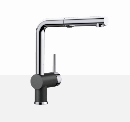 Blanco Posh 403830 Chrome - Anthracite  Kitchen Faucet - Robinet Cuisine