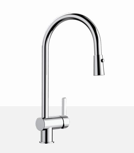 Blanco RITA 401460 Chrome Kitchen Faucet - Robinet Cuisine