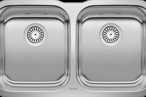 Blanco 400008 ESSENTIAL U2 Undermount Double Kitchen Sink Stainless Montreal