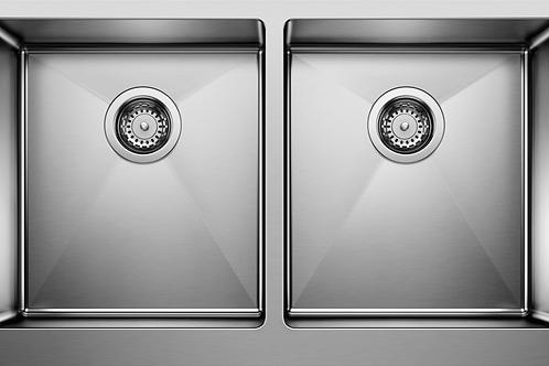 Blanco 401867 Quatrus Double Kitchen Sink Farmhouse Montreal Canada
