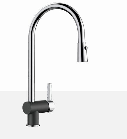 Blanco RITA 401462 Chrome-Anthracite  Kitchen Faucet - Robinet Cuisine