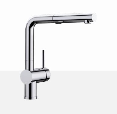 Blanco Posh 403826 Chrome Kitchen Faucet - Robinet Cuisine
