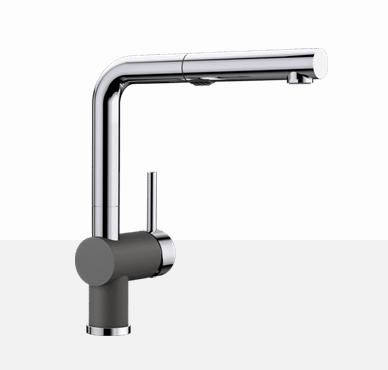 Blanco Posh 403832 Chrome - Cinder Kitchen Faucet - Robinet Cuisine