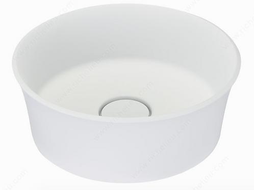 ALM07341 Topmount Vessel Sink Round White $299.99 Lavabo Vasque Rond Montreal
