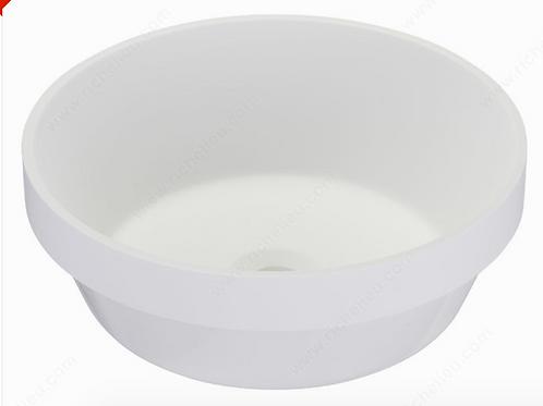 Riveo ALM07403 Topmount Vessel Sink White $279.99 Lavabo Evier Blanc