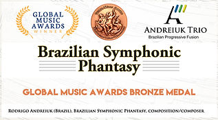 Andreiuk Capa Bronze At Global Music Awa