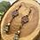 Thumbnail: Elegant Czech Flower Bead Earrings