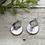 Thumbnail: Pink Pearl Scallop Earrings