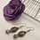 Thumbnail: Purple passion earrings
