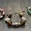Thumbnail: Vintage (Red) Beaded Bracelet