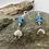 Thumbnail: Scallop Sparkle Earrings