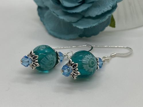 Ocean tears earrings