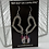 Thumbnail: Love to Sparkle earrings (pink)