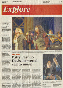 Patty Davis making a name in Modesto