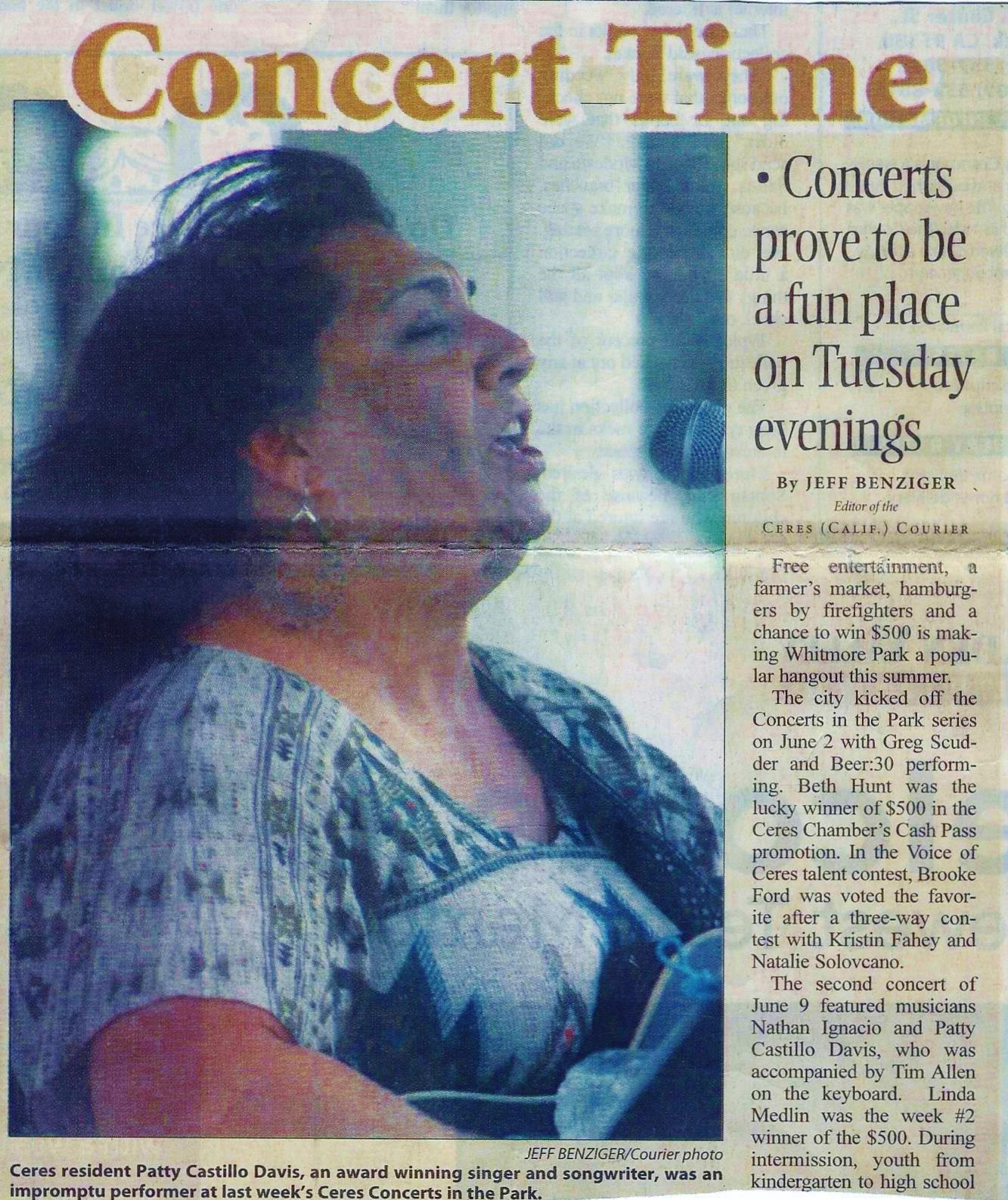 Ceres Concert in Park