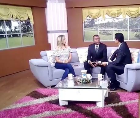 Entrevista del Dr Diego Valencia en el programa Tardes del Sol del Canal Regional Telepacífico, el lunes 7 de mayo de 2018.