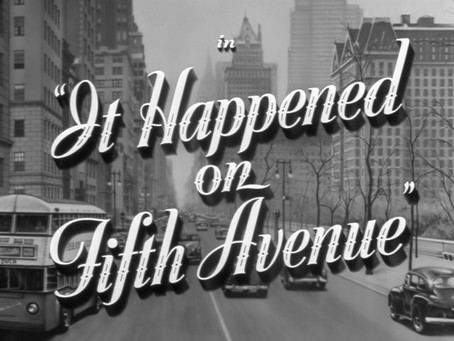Christmas Watch: It Happened on Fifth Avenue (1947)