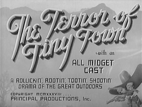 Thanksgiving Turkeys: The Terror of Tiny Town (1938)
