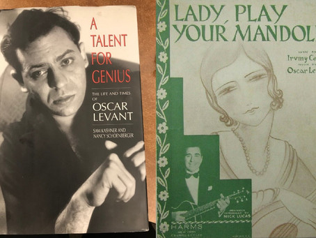 Book Review-- A Talent For Genius: The Life and Times of Oscar Levant