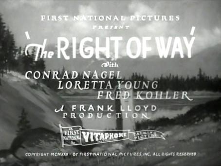 Thanksgiving Turkeys: The Right of Way (1931)