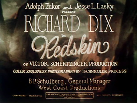 Color Watch: Redskin (1929)