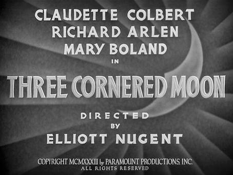 June Moon: Three Cornered Moon (1933)