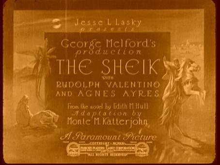 Steam Heat: The Sheik (1921)