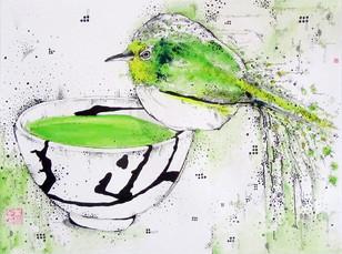 GREEN TEA BIRD