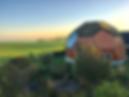 Dome bygning på Møn