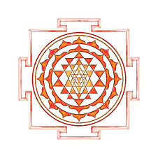 Sri Yantra på Yoga Retreat Møn