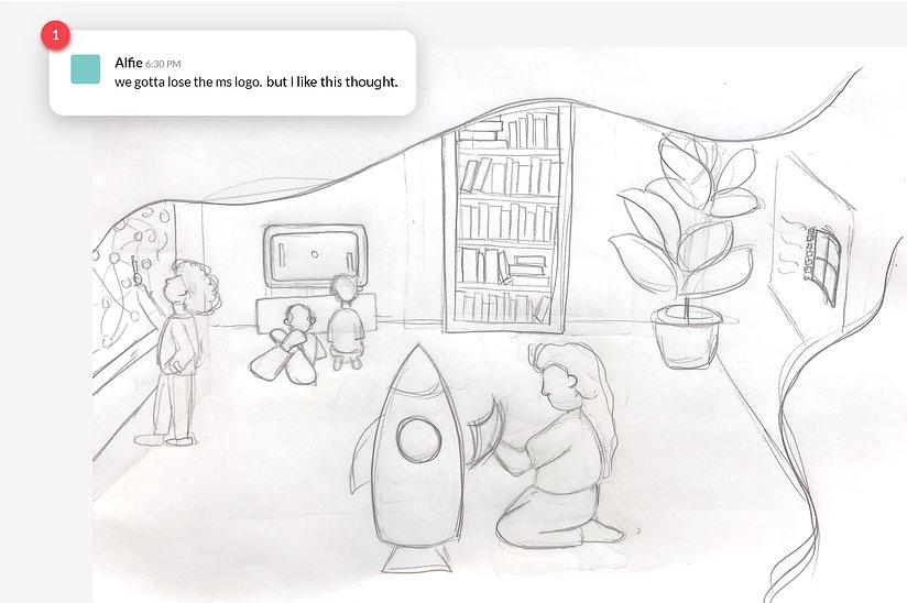 Alfie's Feedback on Sketch