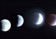 SUPERMOON + BLUE MOON + TOTAL LUNAR ECLIPSE