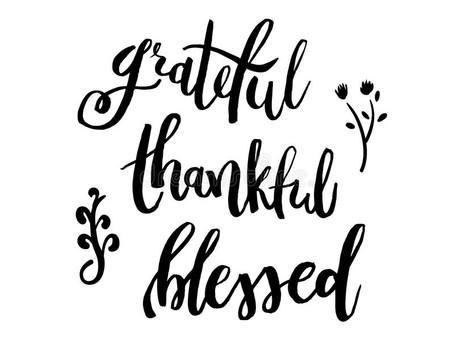 Gratitude; Being Grateful