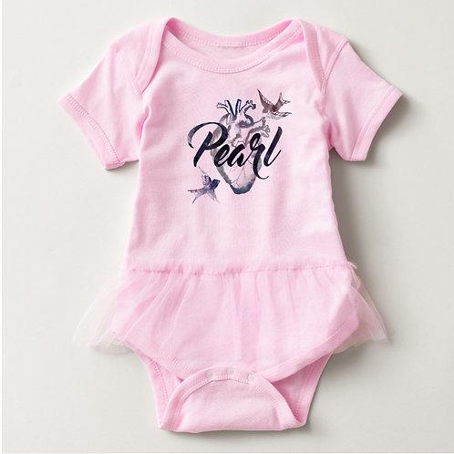 Baby Tutu Bodysuit (Pink)