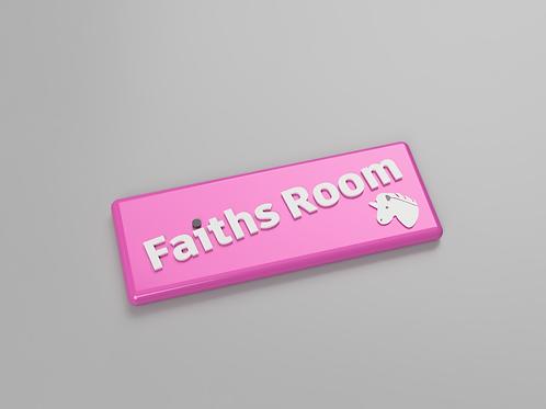 bedroom door names