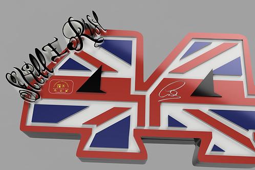 Lewis Hamilton Plaque