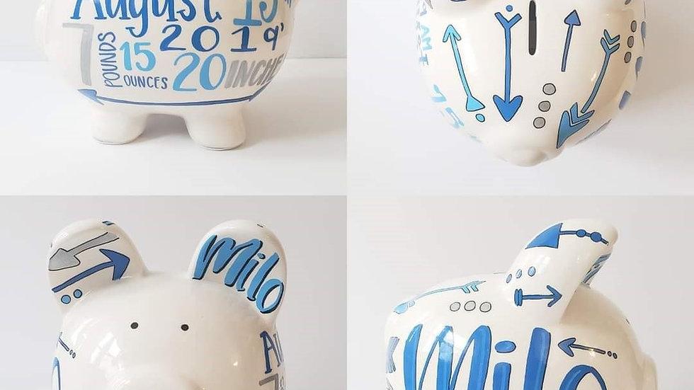 Arrow Piggy Bank