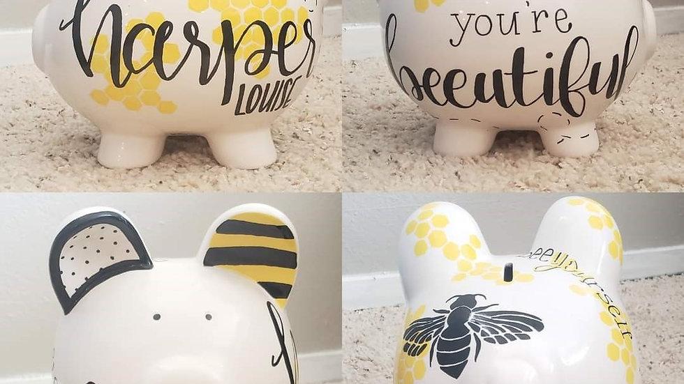 Bumble Bee Piggy Bank