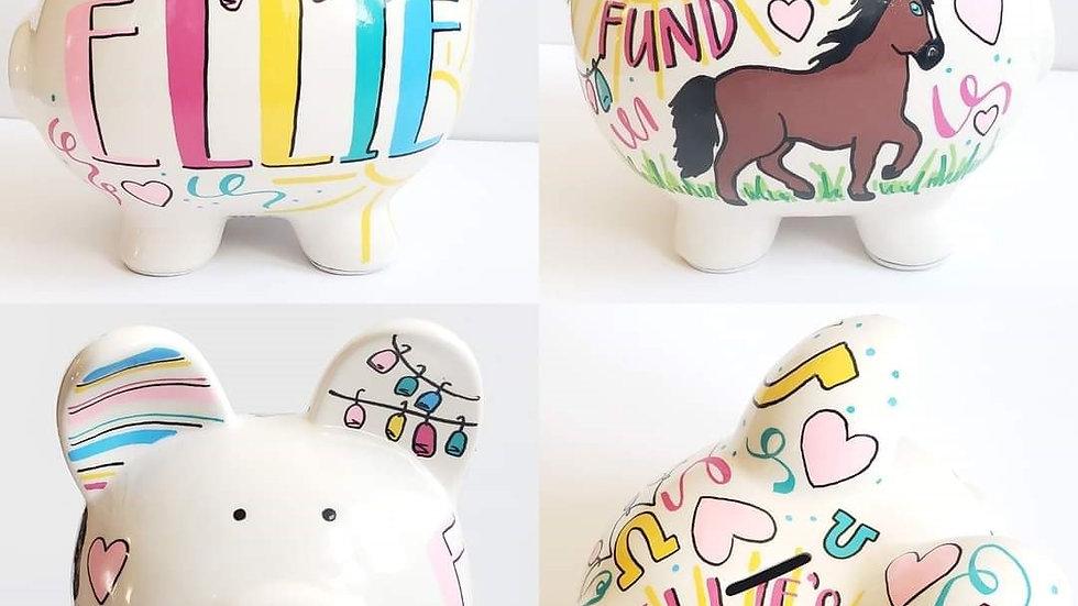 Horse Piggy Bank