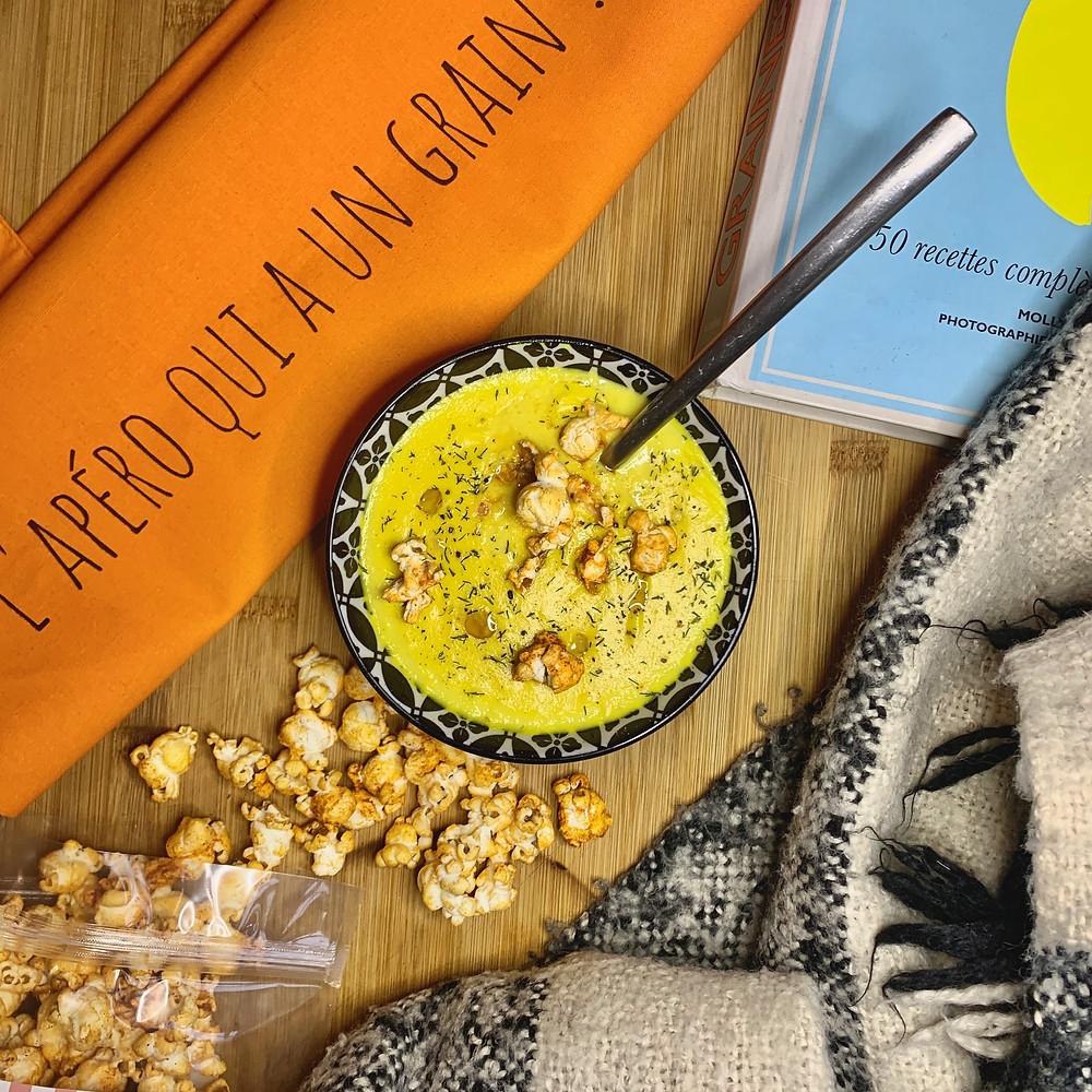 Une soupe réconfortante à base de maïs à déguster aussi bien chaude que froide