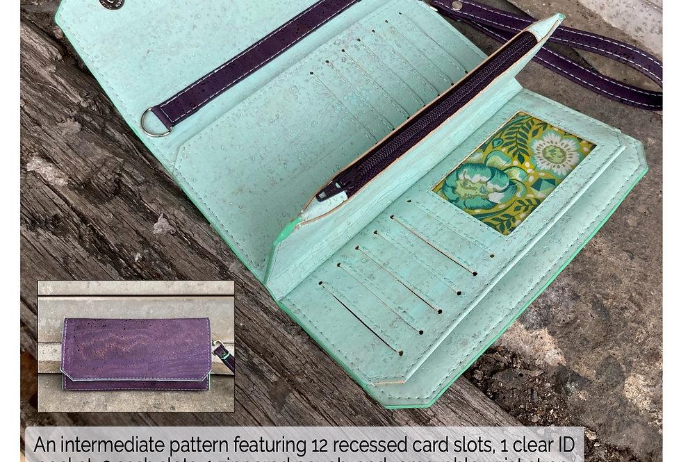 PAPER PATTERN - Triskele Wallet