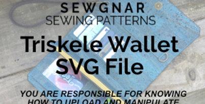 Triskele Wallet SVG Files