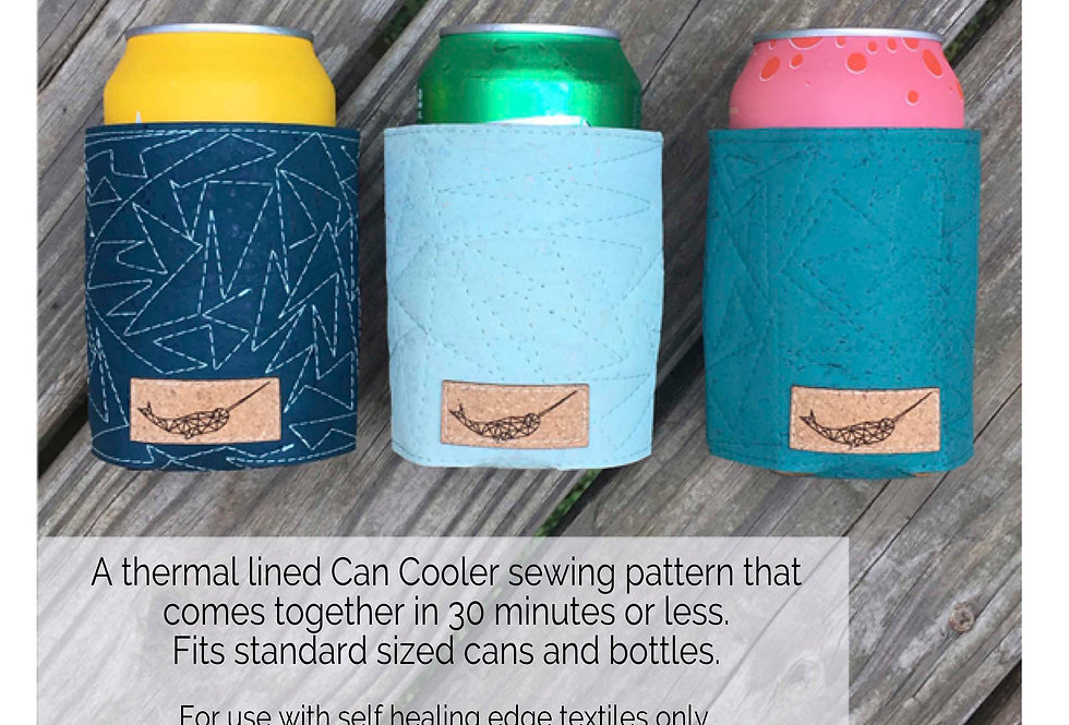 Can Cooler Paper Pattern