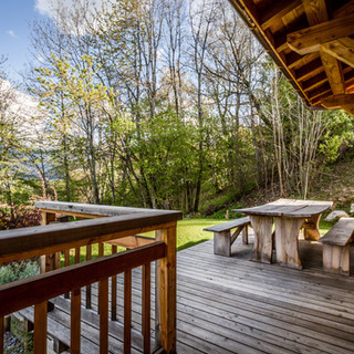 Outdoor Decking and Seating Area