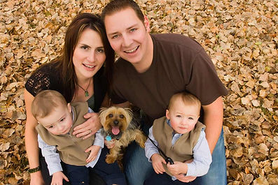 Family in Fall