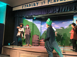 Tech Rehearsal - Louis, Captain Hook, Harry, Dave and Bacardi