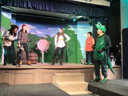 Tech Rehearsal - Louis, Captain Hook, Harry, Calypso, Dave and Bacardi